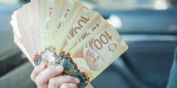 Canadian 100 One Hundred Dollar Notes Bills
