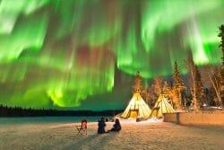 6 лучших мест, чтобы увидеть северное сияние в Канаде. Северно-западные территории Канады