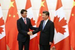 Отношения Канады и Китая. визовые центры. Трюдо.