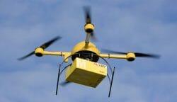 доставка товаров дронами (видео), дрон Канада