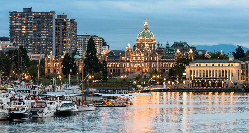Виктория Канада, Виктория Британская Колумбия, столица Британской Колумбии,обязательно посетить в Канаде