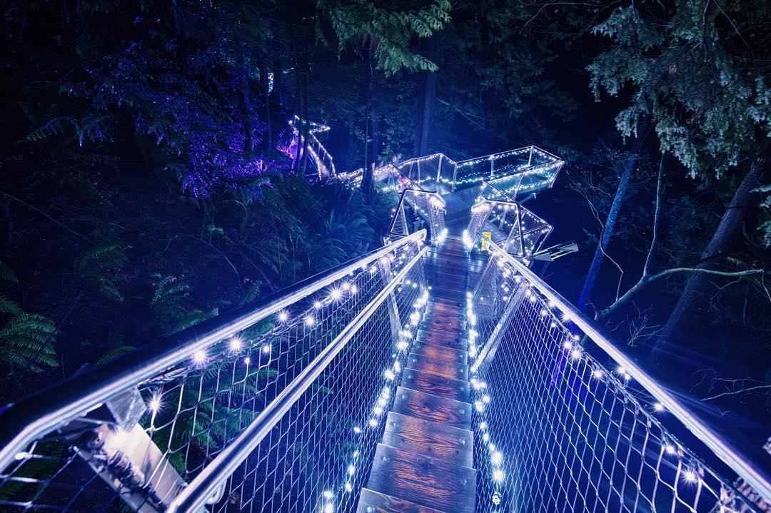 подвесной мост Капилано, Ванкувер мост, Ванкувер Канада