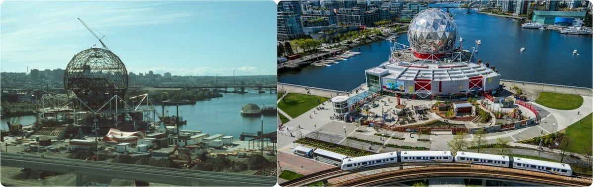 история Ванкувера, фотографии Ванкувер,Ванкувер Канада, Трамп Канада