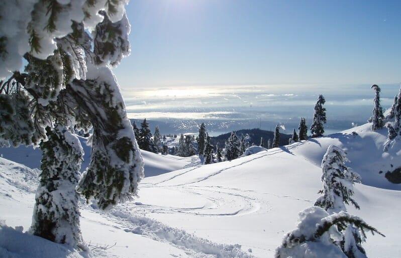 Seymour Mountain. Гора Сеймур, зимний хайкинг в Ванкувере, туризм Канада зима