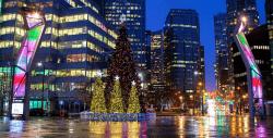 главная елка Ванкувера сменит локацию,Robson Square, площадь Робсон, новый год в Ванкувере