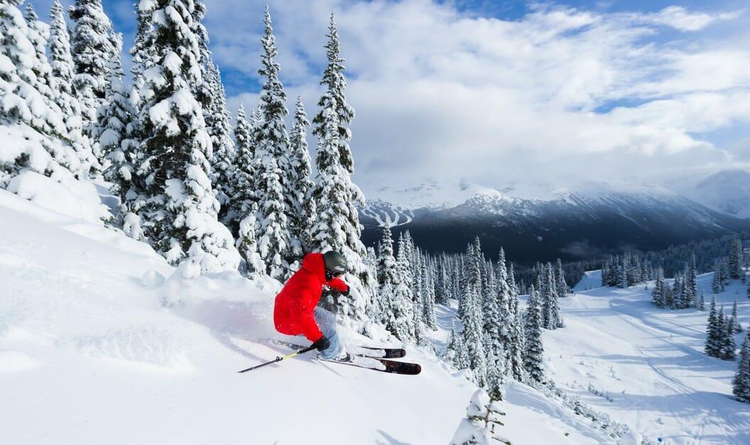 уистлер блеккомб,катание на лыжах Канада, Британская Колумбия,что нужно посетить в Канаде