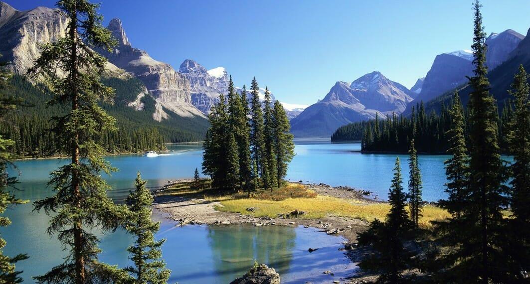 национальный парк в Альберте,национальный парк Джаспер, Канада