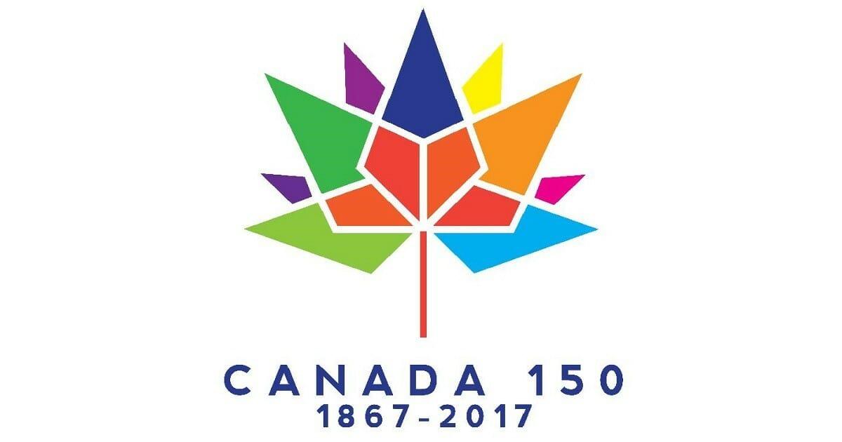 логотип Канады на 150 летие