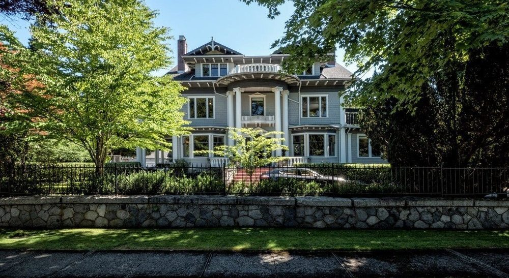 дорогие дома Ванкувера, самые дорогие дома в Ванкувере, Канада