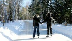 Arrowhead Provincial Park Ice Skating Trail, дорожки для катания на коньках