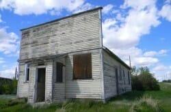 город призрак, Канада, Орион Альберта