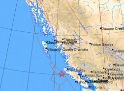 earthquake vancouver, землетрясение Ванкувер, остров Ванкувер, Канада