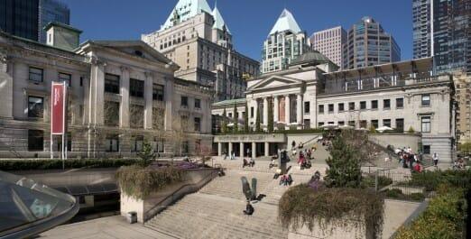 Художественная галерея Ванкувера, Vancouver Art Gallery, Ванкувер Канада, отдых в Ванкувере