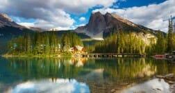 emerand lake,Озеро Эмеранд, видео, Британская Колумбия, красиво, пейзаж, Канада
