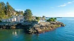 особняк на берегу, Канада, недвижимость, дорого, дорогие дома