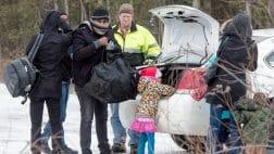 беженцы Канада, холод, Трамп, указ, опрос