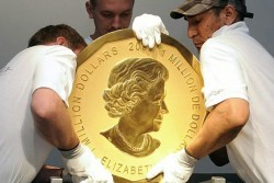 берлин, монета, воры, Канады, похищена монета, 100 кг, 1 миллион