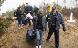 наплыв мигрантов из США в Канаду бьет рекорды