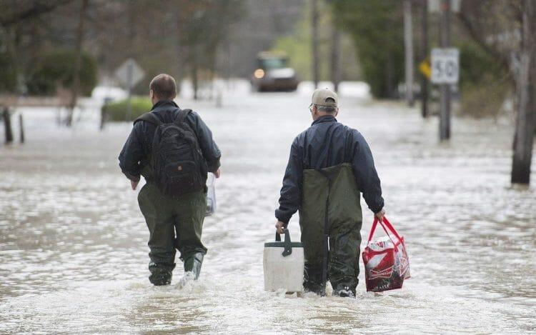 паводки в Монреале, новости Канады