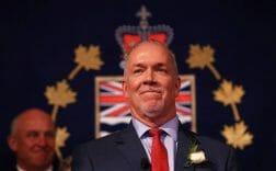 британская колумбия джон Хорган