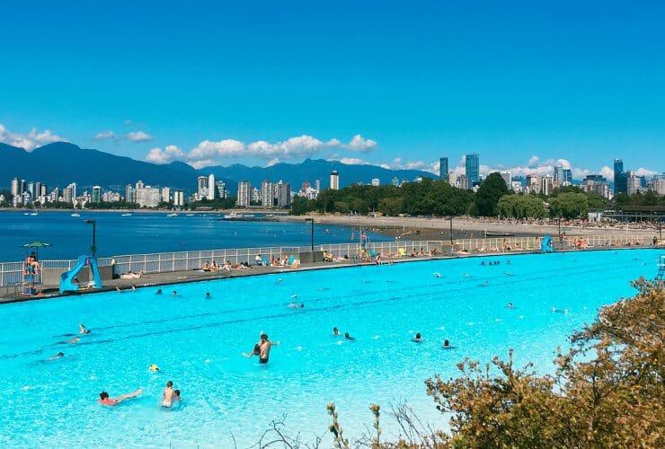 жара в Ванкувере