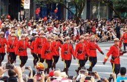 парад ко дню Канады