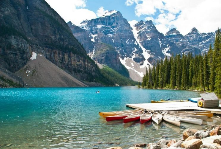озера Канады, озеро Морейн