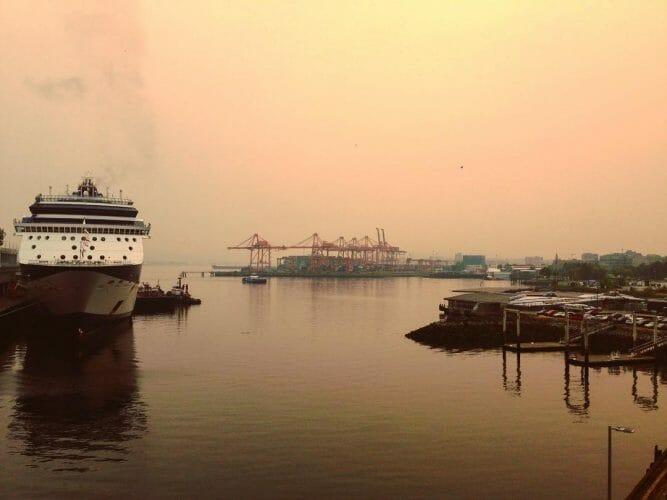 пожары в Британской Колумбии