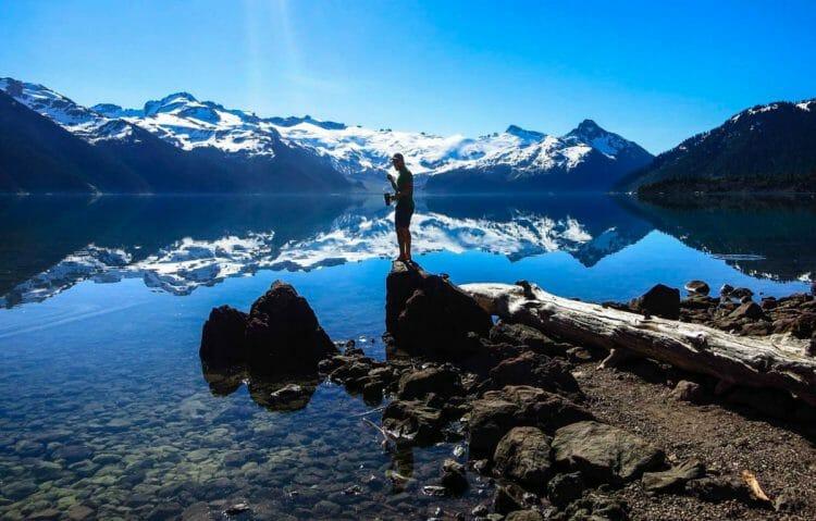 самые красивые озера мира - Гарибальди Канада