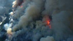 пожар в Альберте Канада