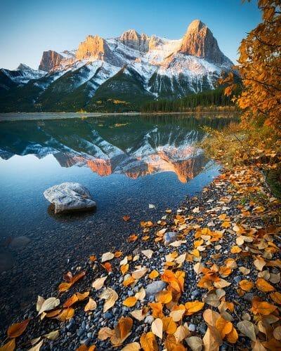 Кэнмор Альберта, осень в Альберте