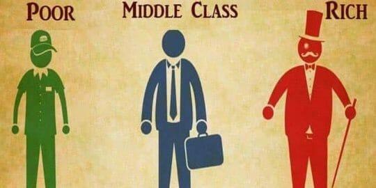 средний класс в Канаде