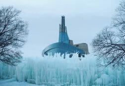 самые холодные города Канады
