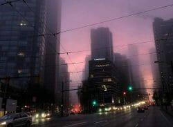 туман в Ванкувере