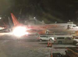 в Канаде столкнулись два самолета