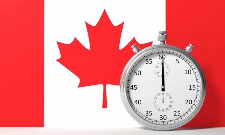 виза в Канаду, время обработки