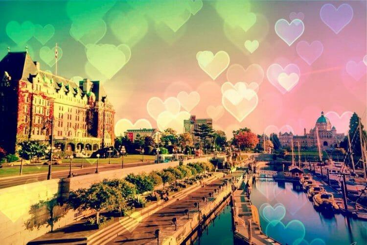 романтичные города Канады