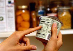 новые этикетки продуктов питания в Канаде