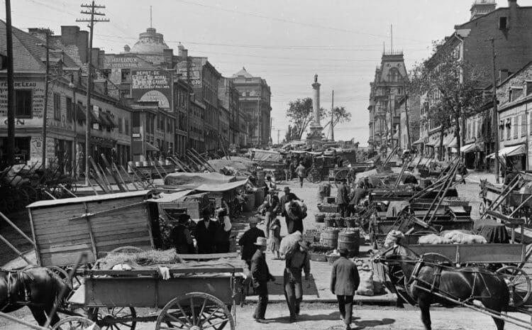 исторические фото Канады