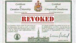 аннуляция канадского гражданства