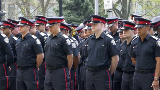 канадская полиция - ваши права