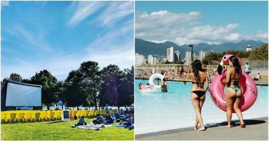 Ванкувер занятия 2018 лето